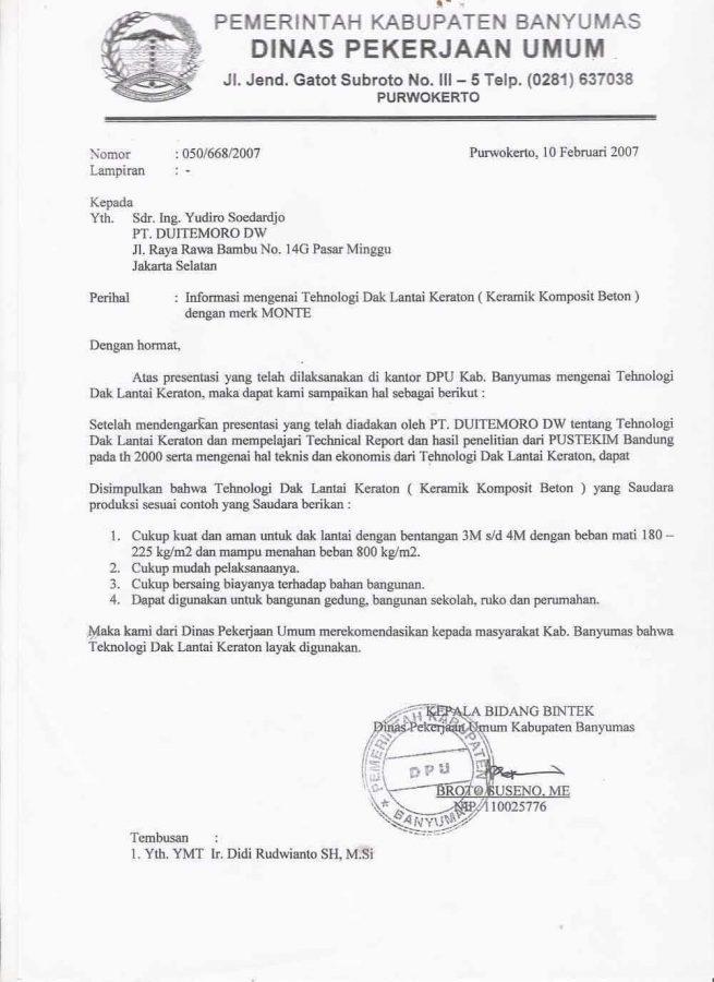 12+ Contoh Surat Dinas   Sekolah, Perusahaan, Kesehatan